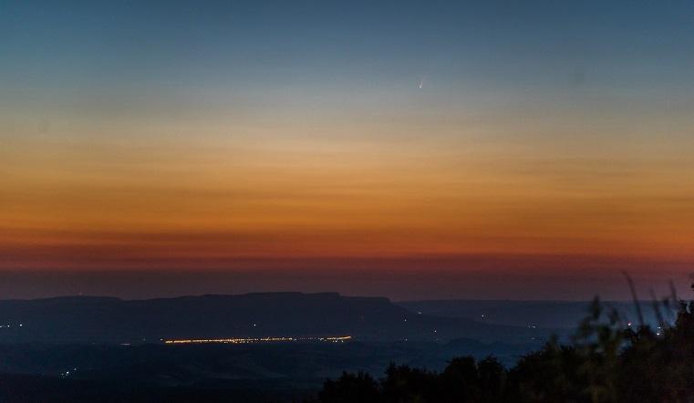 Неземная красота. Самая яркая комета впервые за 7 лет подлетела к Земле