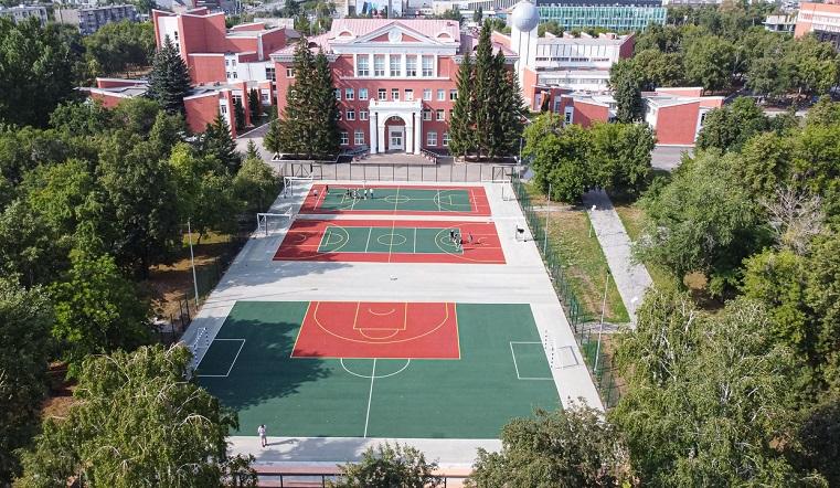 Новое спортивное пространство появилось в Челябинске