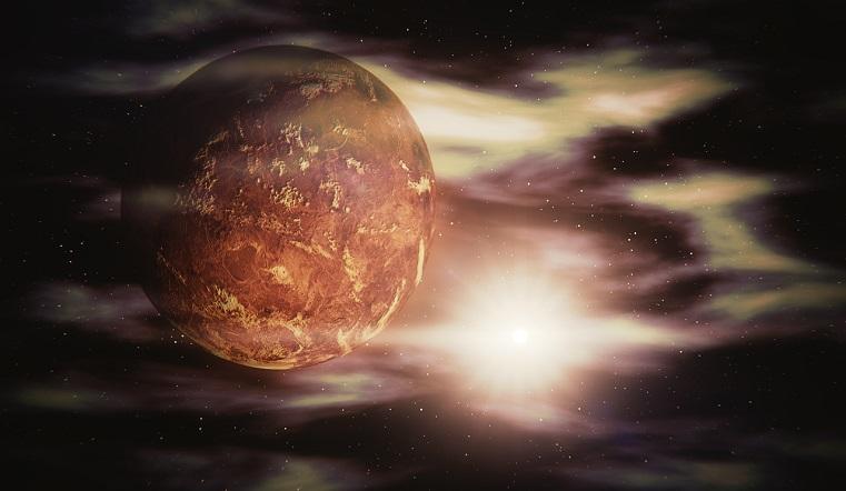 Кислотные облака. Жители Земли смогут увидеть огромную Венеру