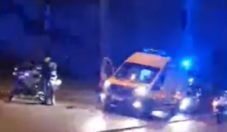 Не вернулся с работы. В Челябинске иномарка сбила полицейского на мотоцикле