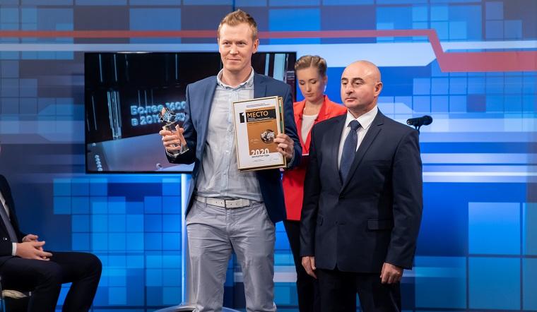 Премия «Экспортер года». В студии ГТРК «Южный Урал» наградили бизнесменов-победителей