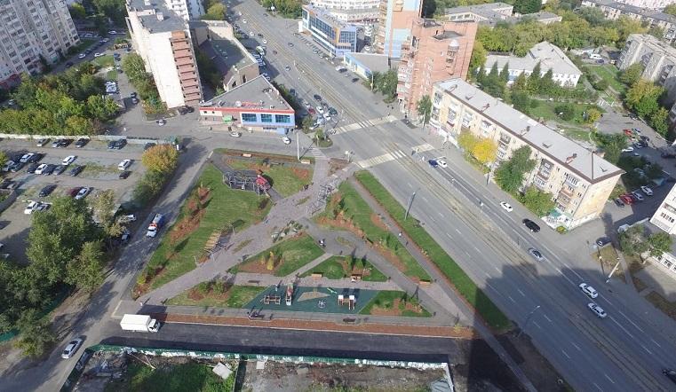Готовы сквер и развязка. Благоустройство Челябинска проверила мэр города