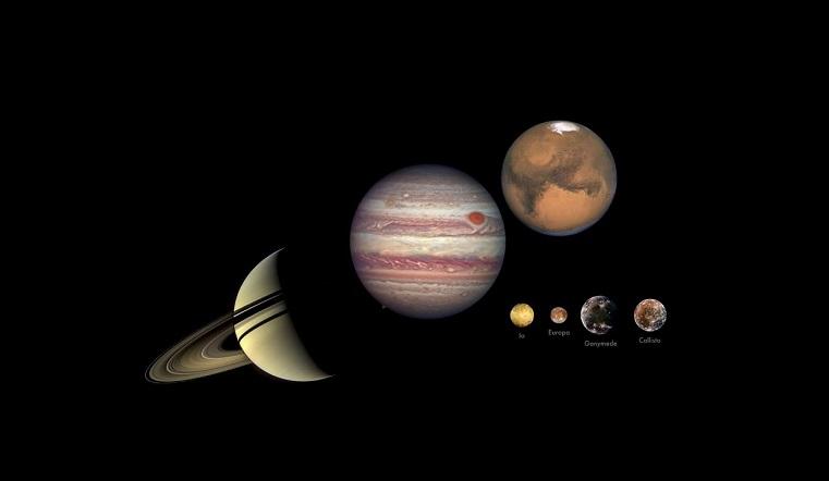Парад планет 2020. Что сулит сближение Луны, Юпитера и Сатурна