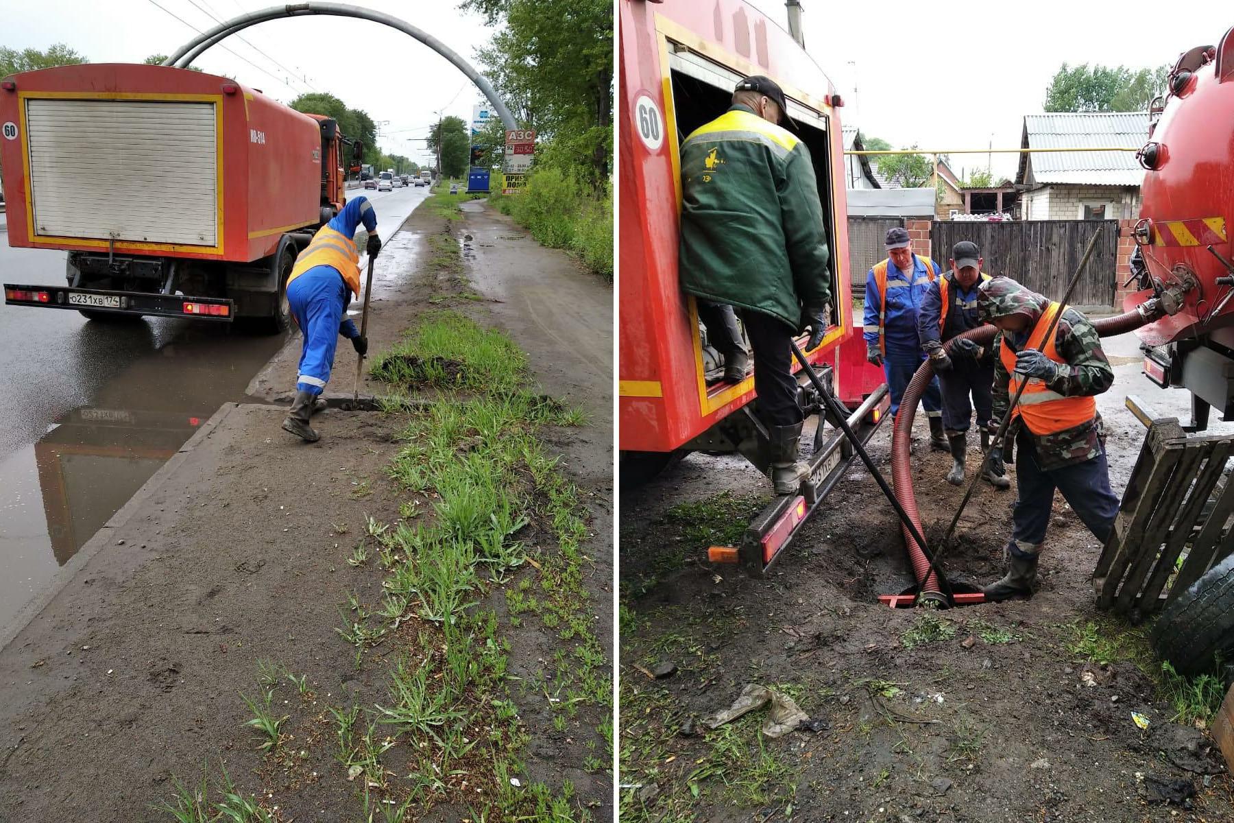 Топит дома и дороги. Жители Челябинской области делятся последствиями рекордных осадков