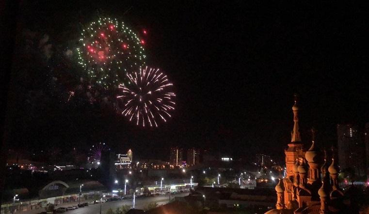 Салют на 1 миллион: день рождения Челябинска завершился грандиозным фейерверком