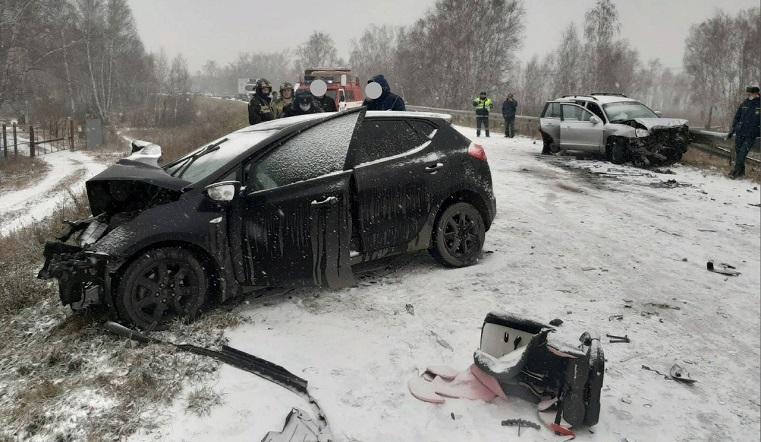 Ребенок погиб, еще 3 пострадали. Иномарки попали в страшное ДТП на Южном Урале