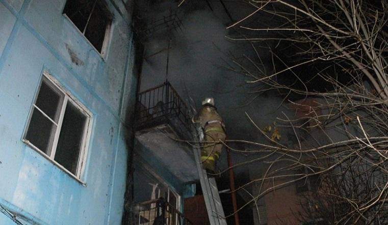 Огненная ловушка. Женщина погибла на пожаре в Челябинской области