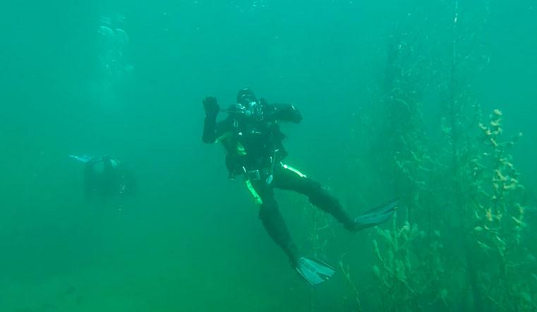 Дайверы показали, что хранится на дне уральских озер. Озера Челябинской области. Экология