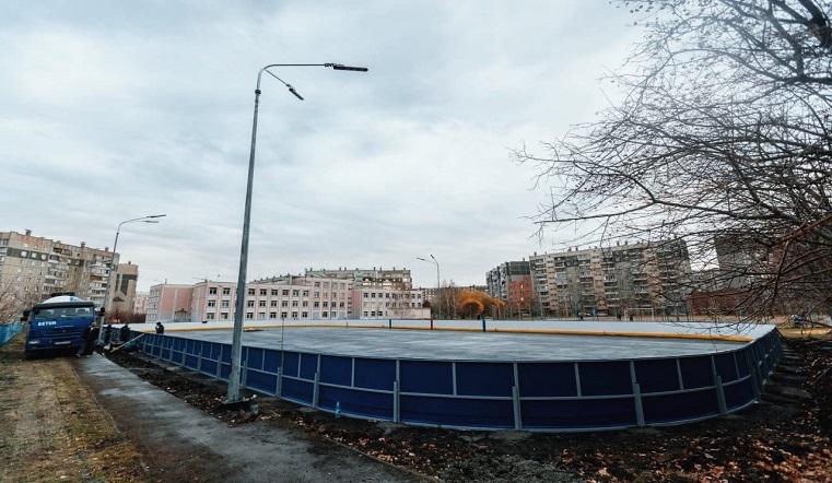 Для будущих звезд. В Челябинской области откроют площадки для дворового хоккея