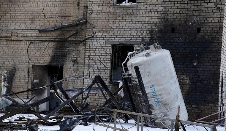 Взрыв в больнице