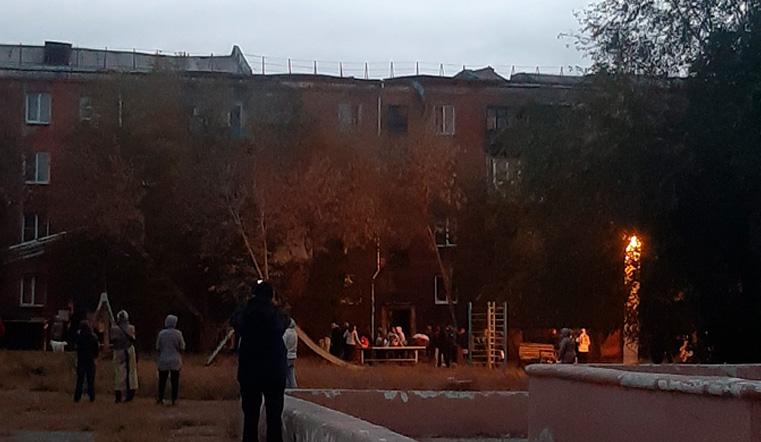 Дом восстановят. После крупного пожара в Магнитогорске квартиры готовят к заселению