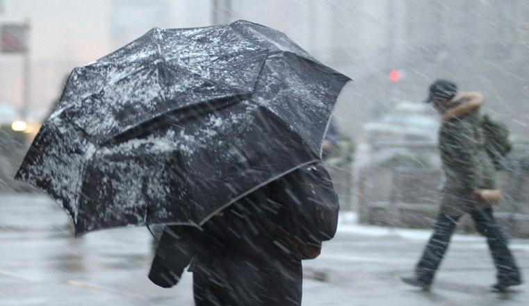 Ударит мощный циклон. На Урале прогнозируют штормовой ветер и мокрый снег