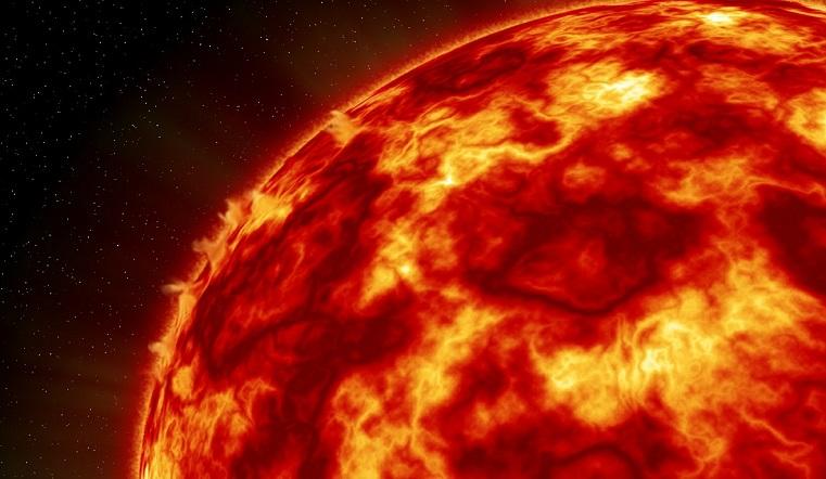 Магнитные бури 2020. На Солнце появились черные пятна размером с Луну
