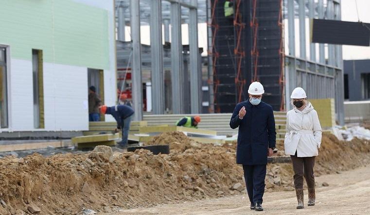 За рекордные 3 месяца. В Челябинске завершается строительство инфекционной больницы