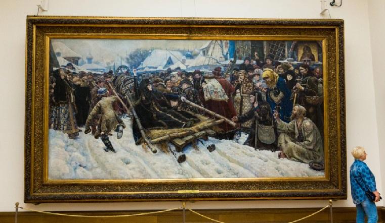Шедевры русской живописи. Картины из Третьяковской галереи привезли в Челябинск