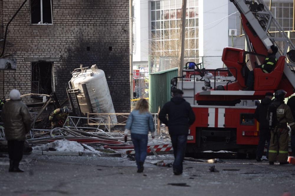 Грохот и дым столбом. В центре Челябинска прогремел взрыв ВИДЕО