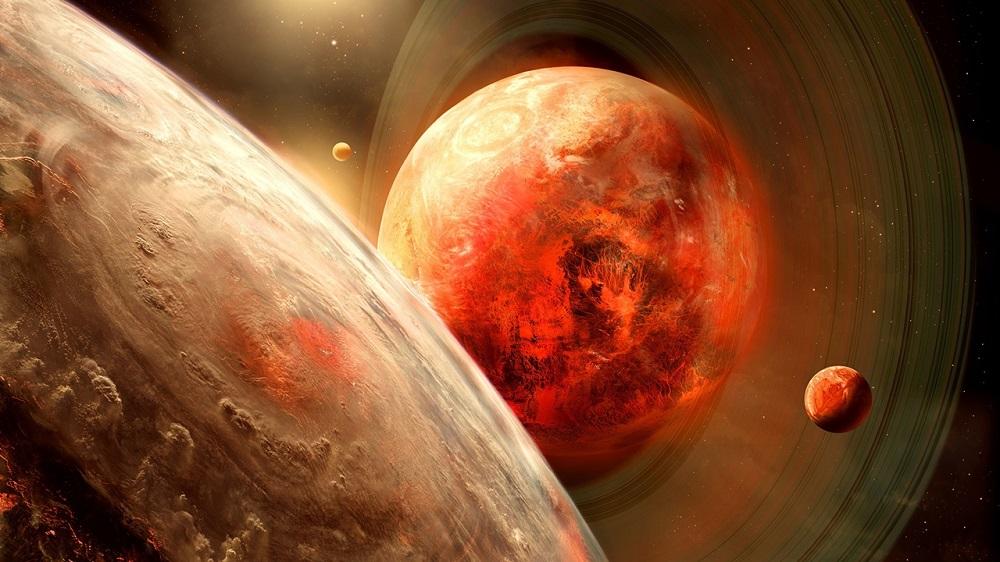 Такого не было 800 лет. В високосный год Юпитер и Сатурн сойдутся в небе