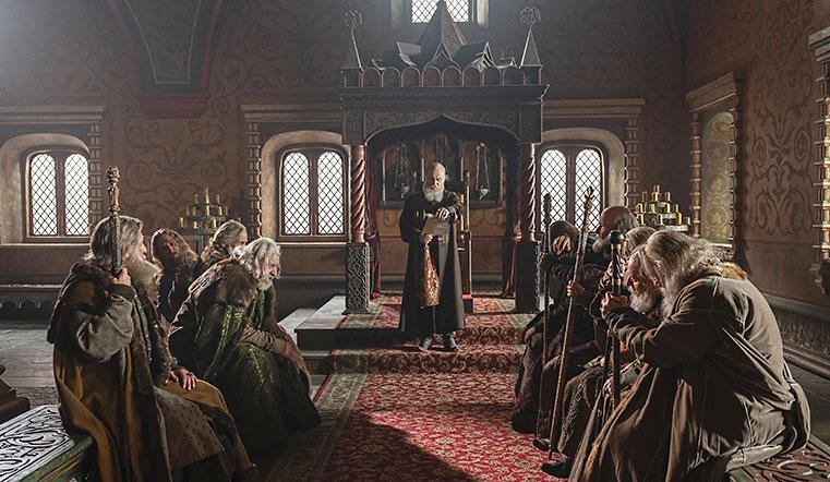 Историческая драма. Телеканал «Россия» объявил, когда состоится премьера сериала «Грозный»