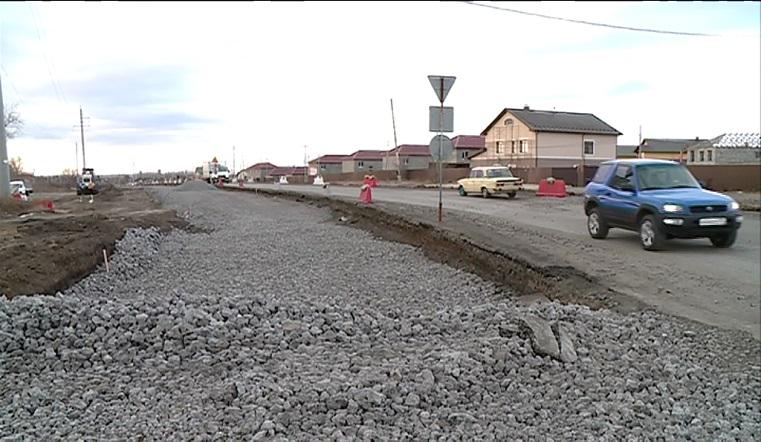 Мороз не помеха. Новую 4-полосную дорогу строят в Магнитогорске