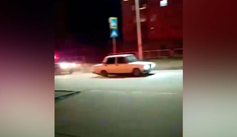 Ночные гонки. Полиция на Урале устроила погоню за пьяным лихачом ВИДЕО