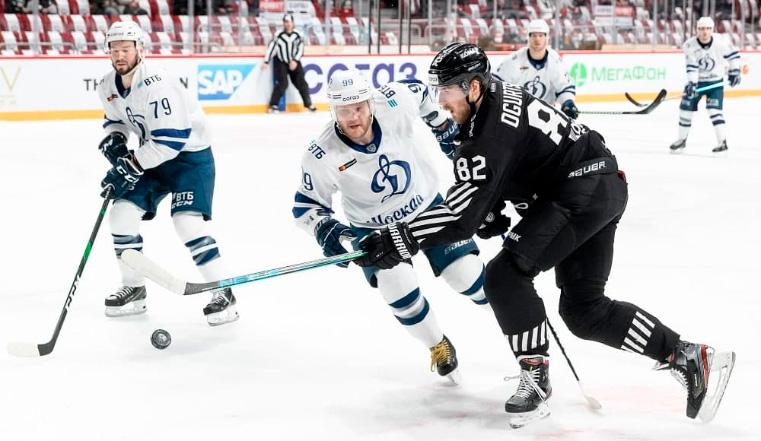 Хоккейный Бог сегодня не с нами: ХК Трактор уступил московскому «Динамо»