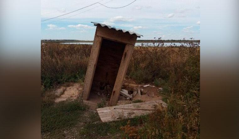 Общественное недоразумение. Самый отвратительный туалет нашли в Челябинской области