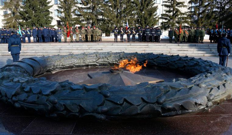Раз и навсегда. Мемориалы Вечный огонь на Южном Урале будут работать бесперебойно. ВОВ