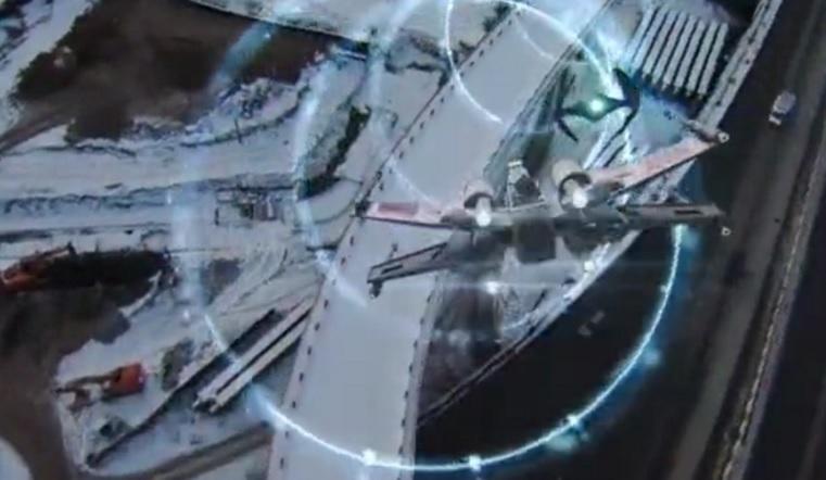 Звездные войны. В Челябинске сняли на видео гонки космолетов