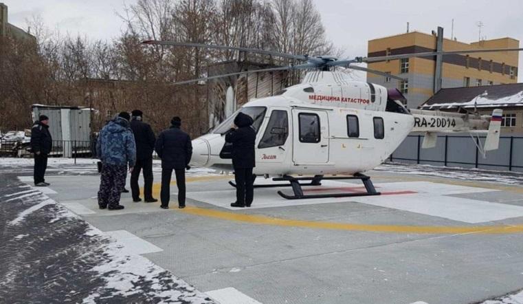 Когда счёт идёт на секунды. В Челябинскую областную больницу экстренных пациентов доставят на вертолёте