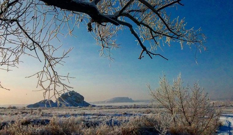 Белоснежные пейзажи. Города Челябинской области покрылись инеем