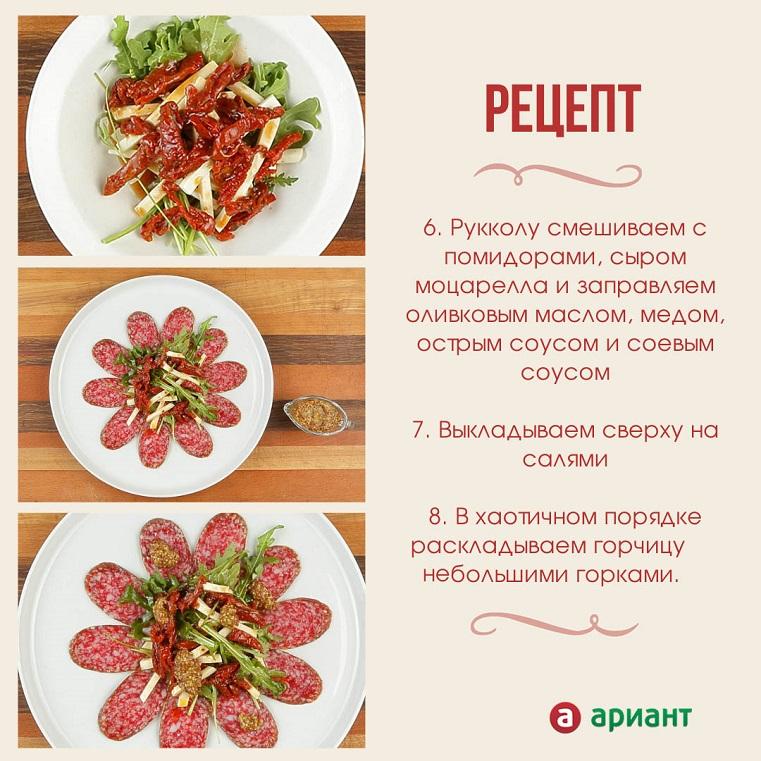 Рецепты на каждый день: как приготовить салат с рукколой и салями