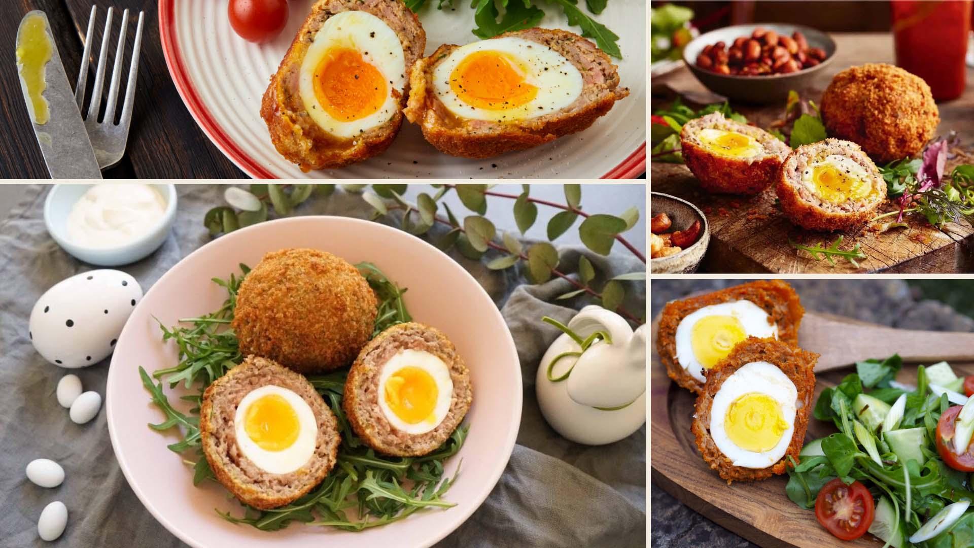 Быстрые рецепты с фото. Как приготовить яйца по-шотландски