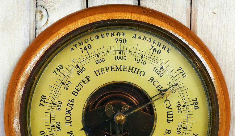 Удар с неба. В Челябинской области ожидается высокое атмосферное давление