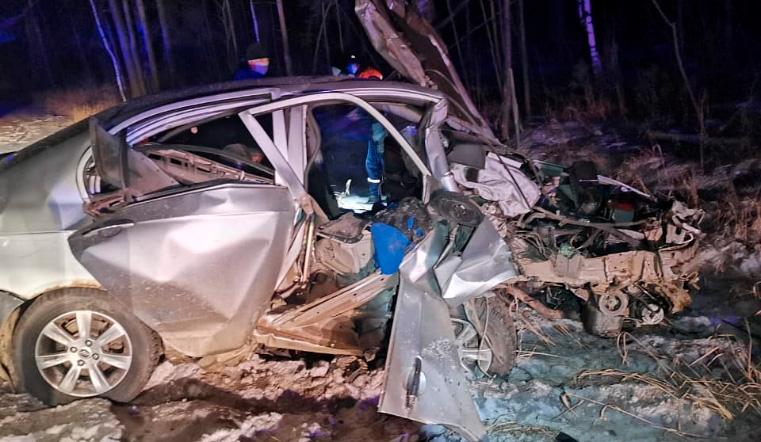 Пассажирка погибла. В Челябинской области пьяный водитель врезался в дерево