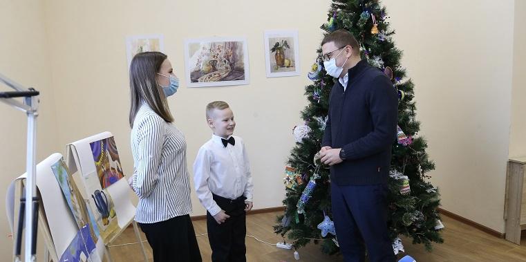 Исполнить мечту ребенка. Губернатор Текслер посетил Карабаш