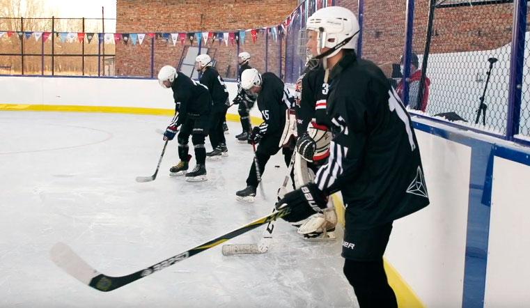 Для будущих звезд НХЛ. В Челябинской области открыли современную хоккейную площадку