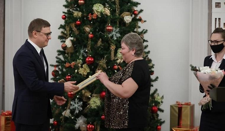 Губернатор Текслер наградил медиков ГКБ №2 за решительность во время ЧП