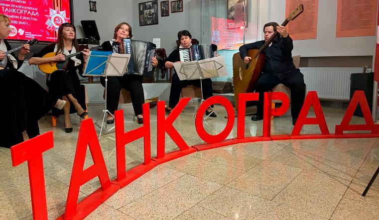 Вскроют к 100-летию Победы. В челябинский музей привезли огромную гильзу