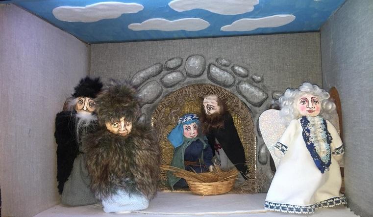 """Для юных зрителей. В Магнитогорске в кукольном театре поставили библейский """"Вертеп"""""""