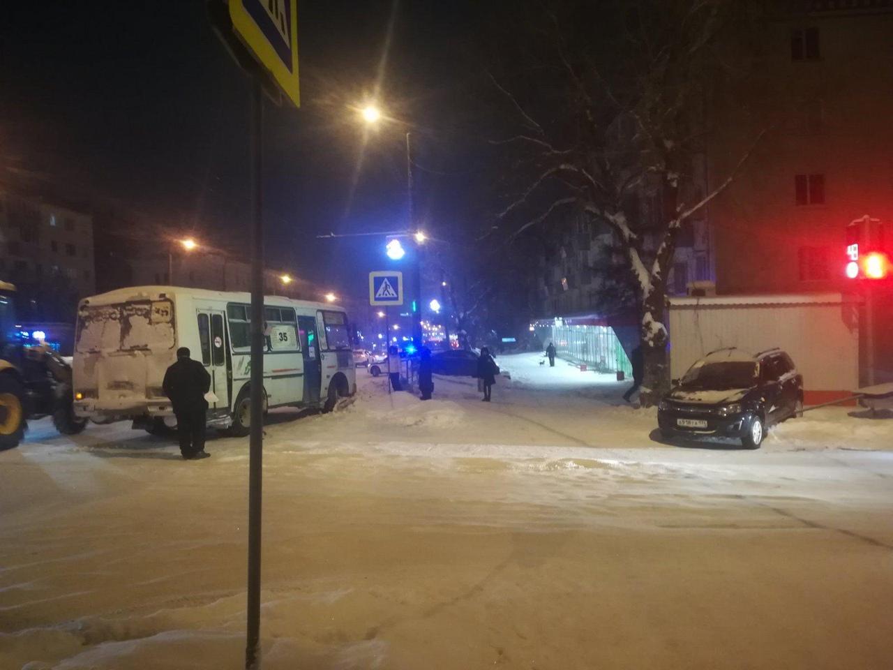 Маршрутка и троллейбус попали в ДТП в Челябинске