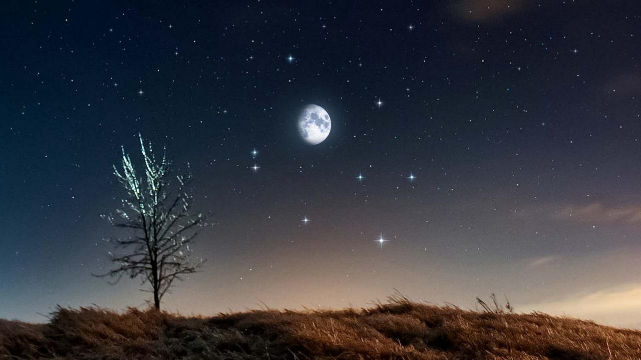Лунная призма: спутник Земли попадет в кольцо звезд