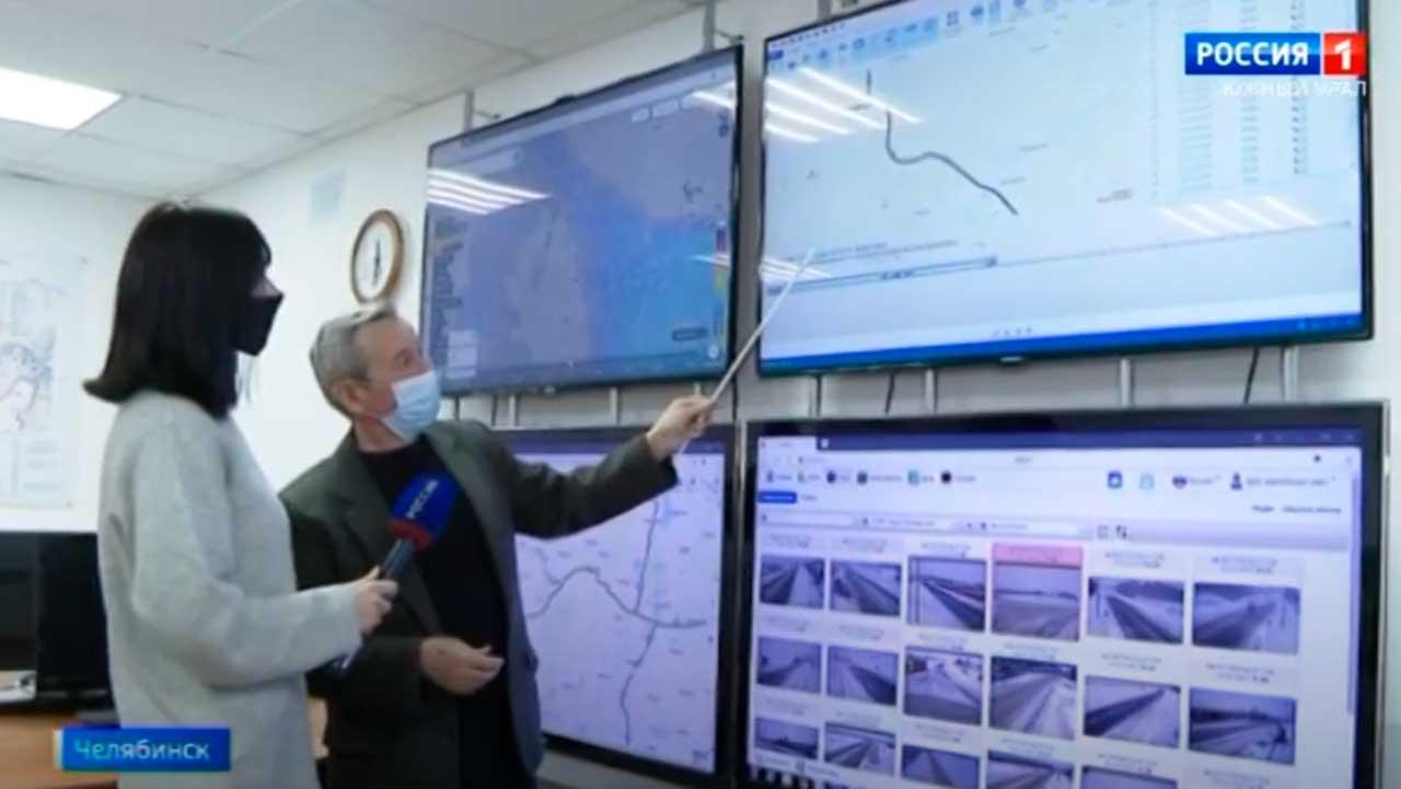 За дорогами в Челябинской области следят с помощью новых технологий
