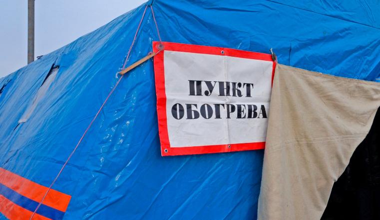 Круглосуточная помощь. На трассе М5 в Челябинской области появились теплые палатки