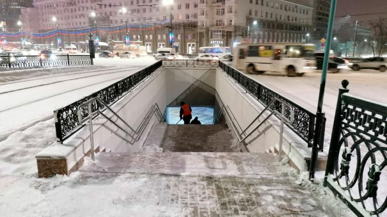 Подземные переходы в Челябинске оборудуют видеокамерами
