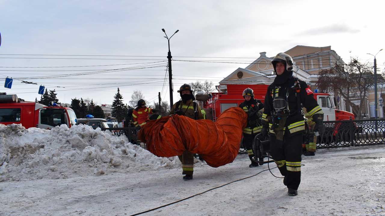В центре Челябинска раздался взрыв, есть пострадавший