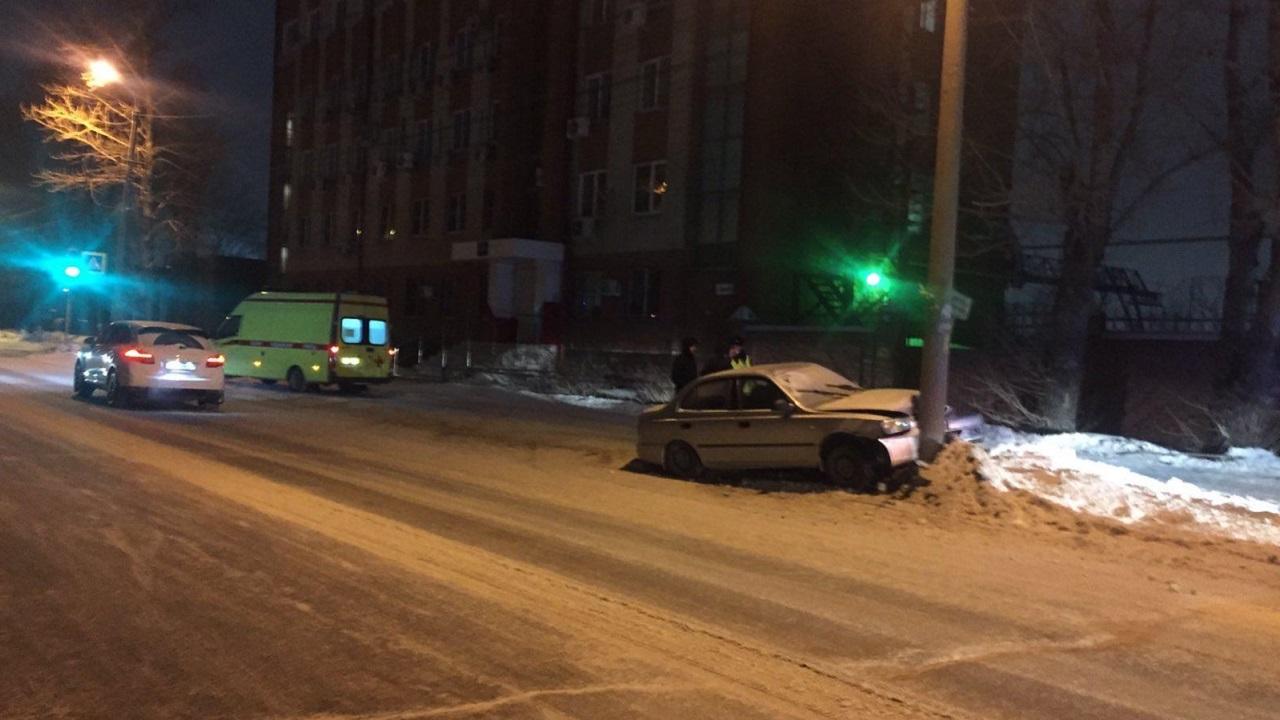 В ДТП в Челябинске пострадали 2 подростка