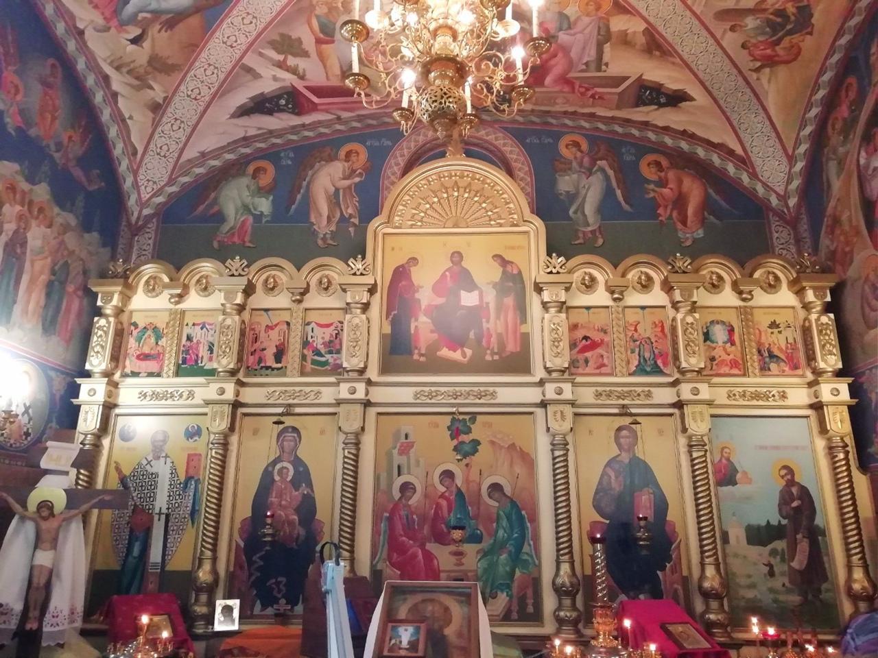 Храм Святителя Николая Чудотворца на Обл суде Че