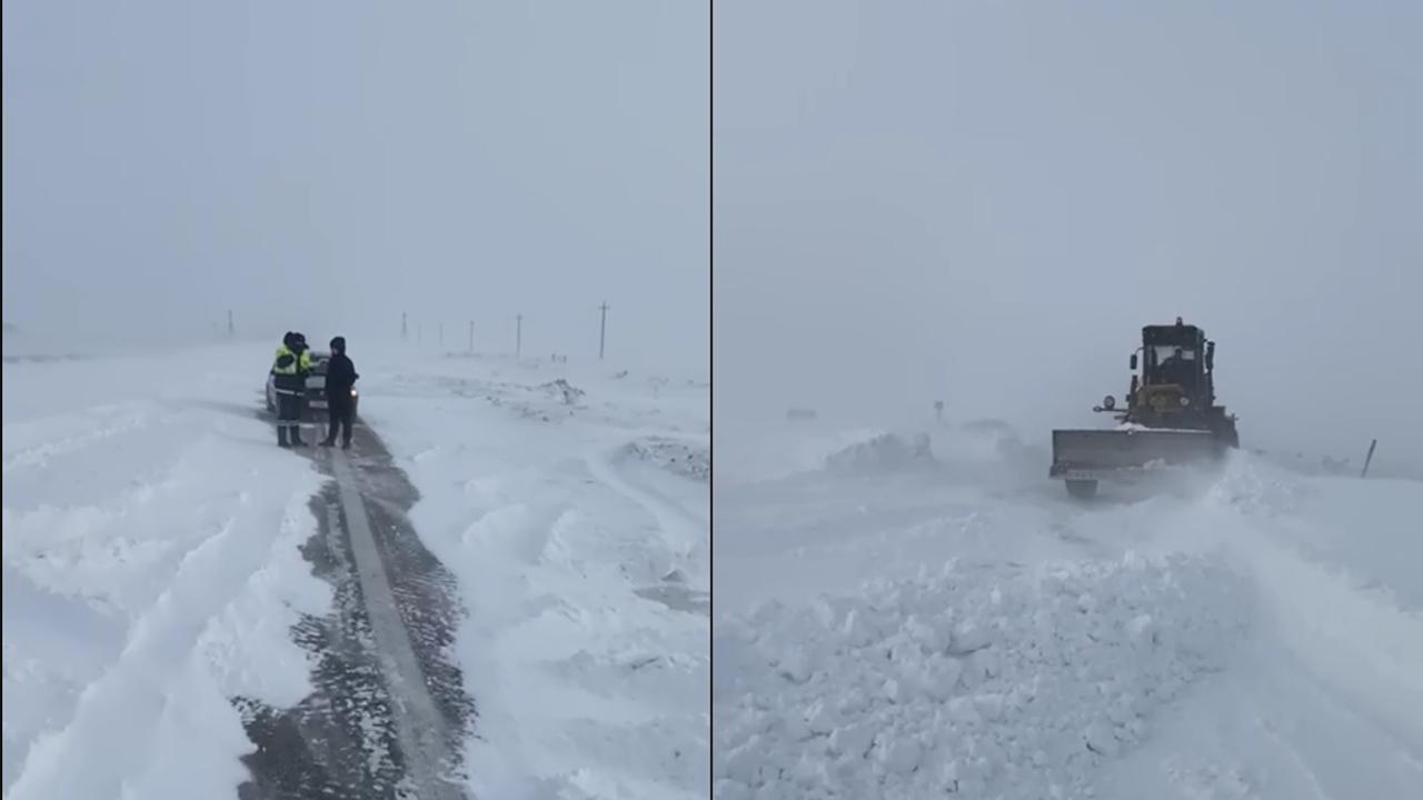 Застряли на трассе: на Урале спасли детей из снежного плена