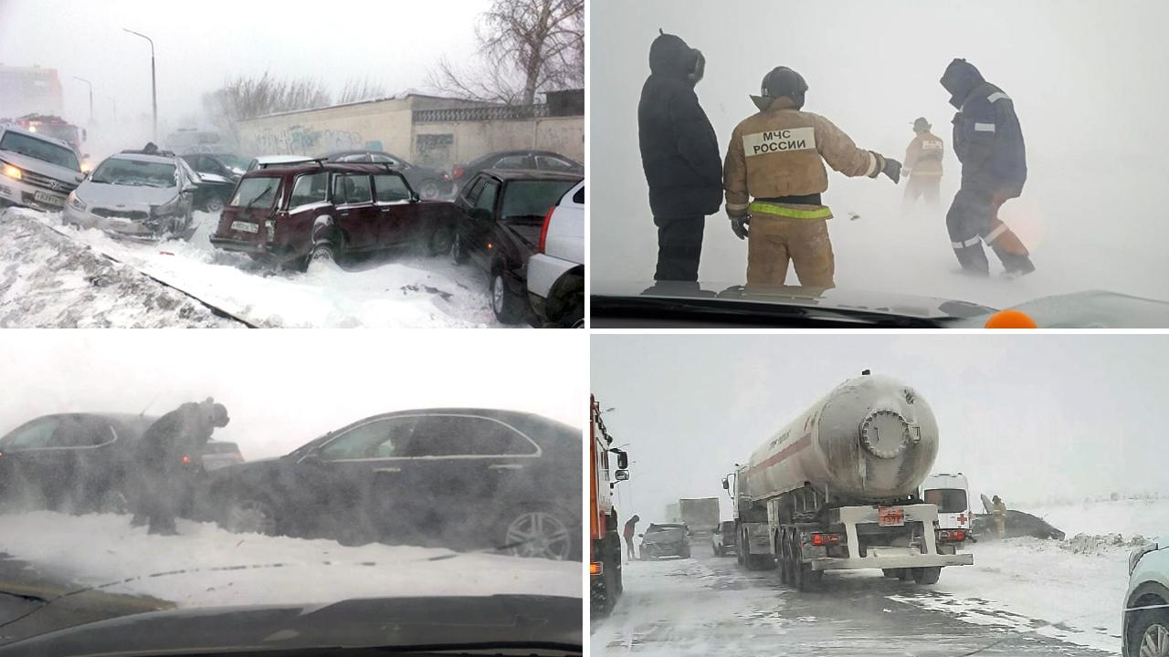 «Это катастрофа какая-то». Массовые ДТП и закрытые трассы в Челябинской области