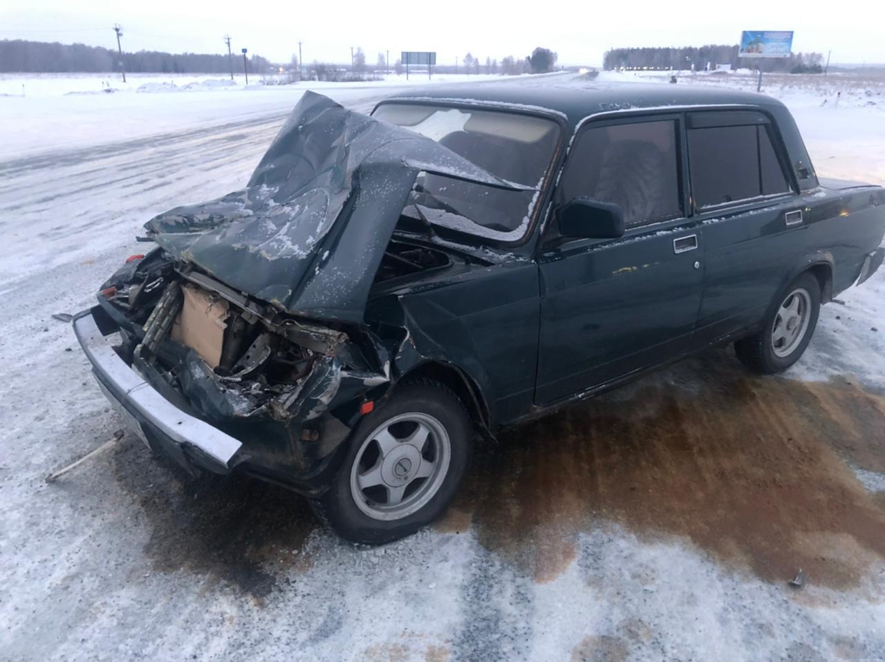 Школьный автобус попал в ДТП в Челябинской области